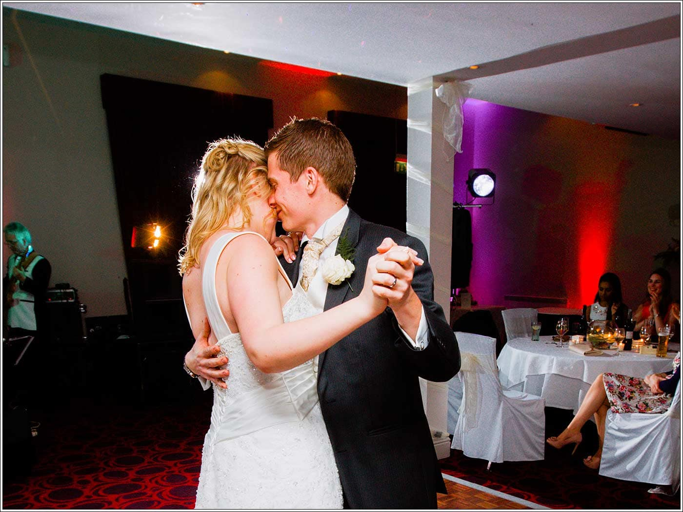 First dance at Walton Hall