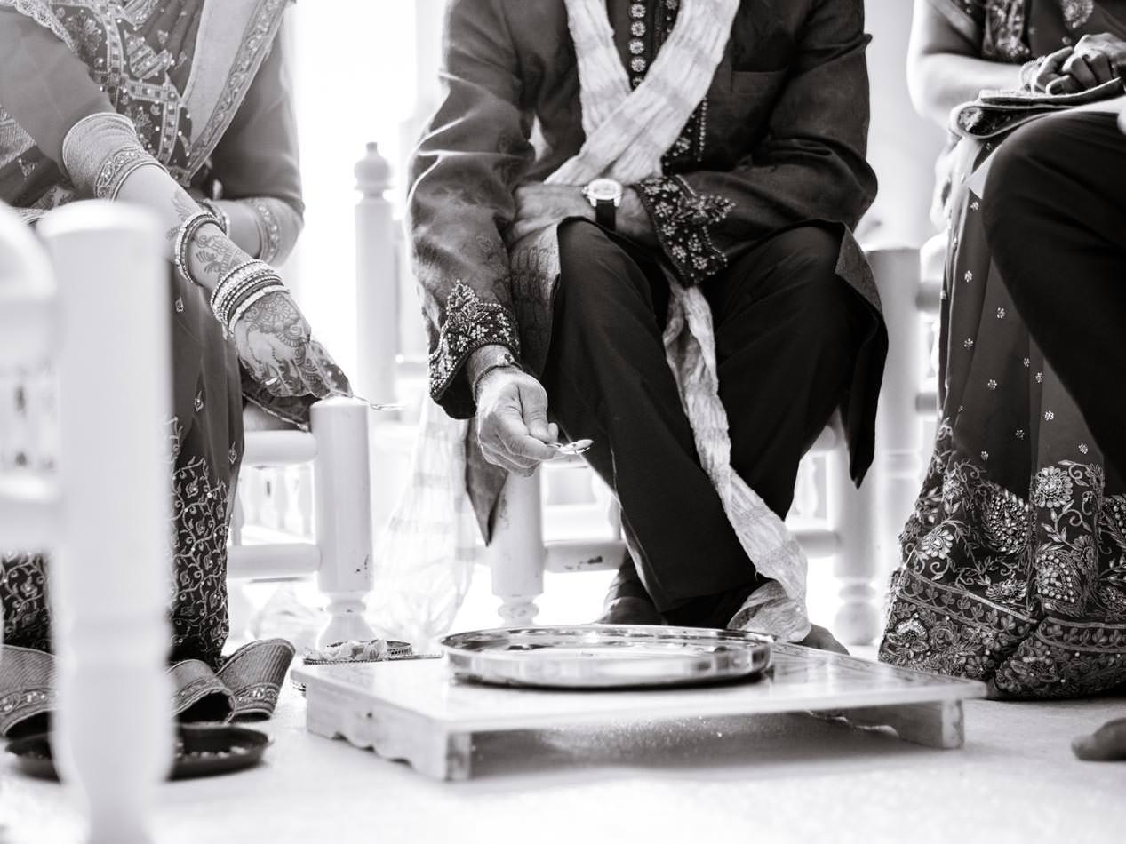 Hindu ceremony at Ragley Hall