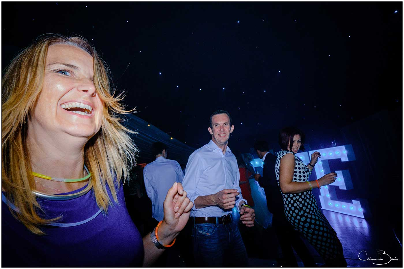 Coombe Abbey wedding photography showing happy man and woman on the dance floor