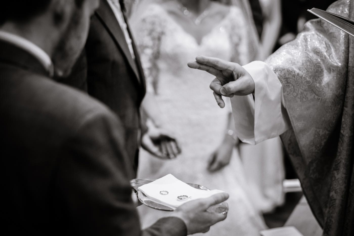 Blessing of the wedding rings