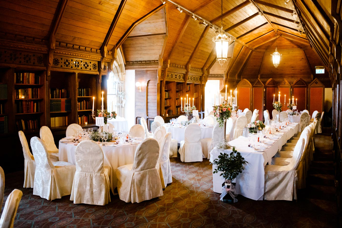 The Long Gallery at Ettington Park Hotel