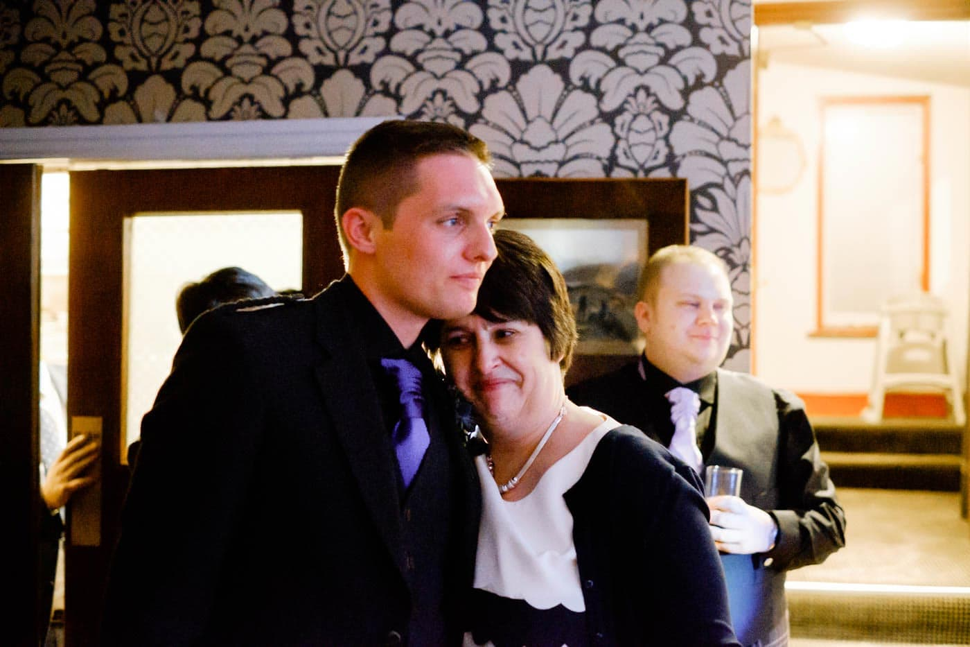 Groom and mother-in-law