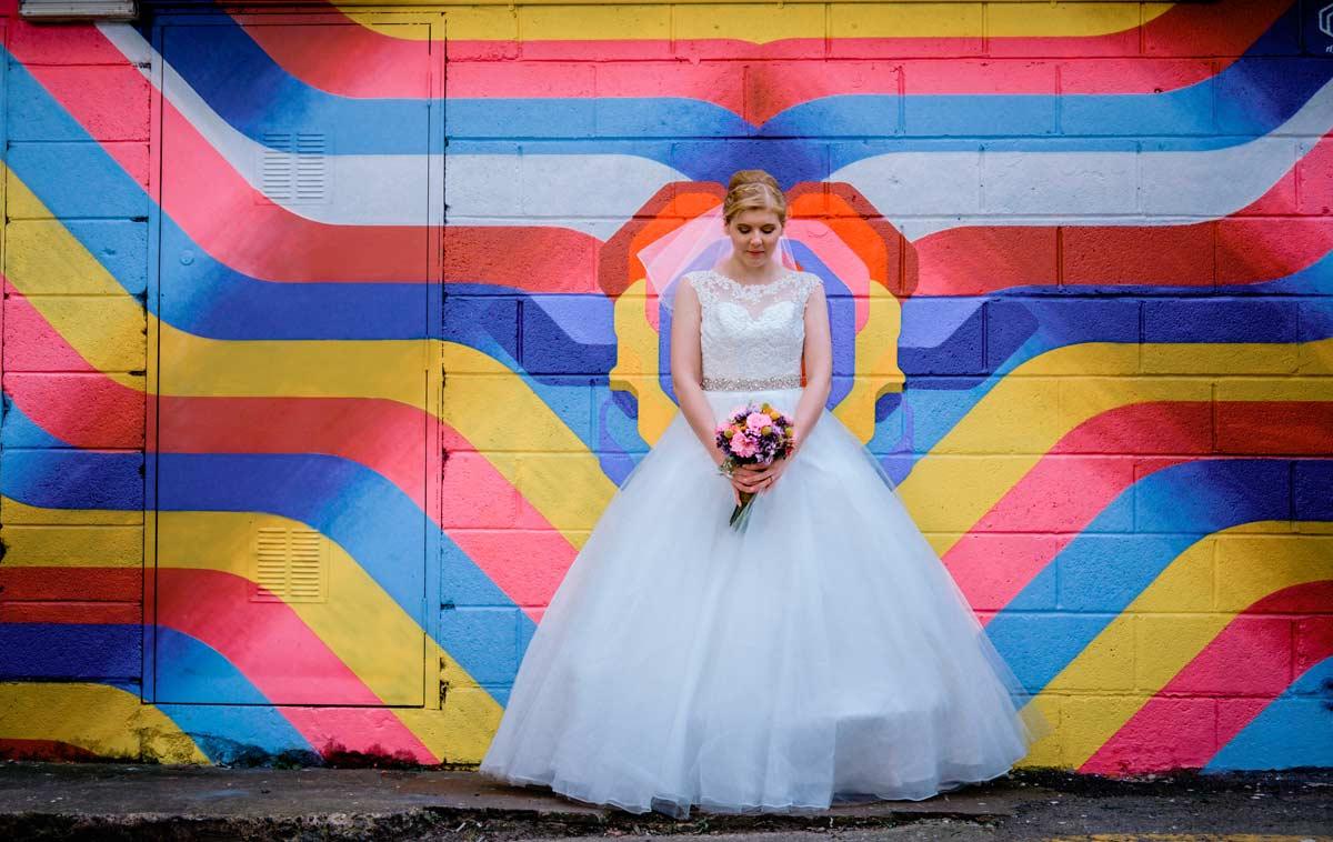 Bride by Custard Factory graffiti